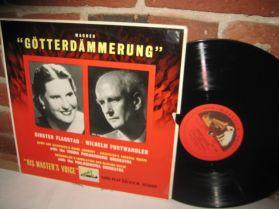 Wagner - GOTTERDAMMERUNG - FURTWANGLER - UK HMV Classical LP