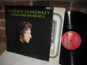 Chopin - Etudes Op 10 And Op 25 - Vladimir Ashkenazy - Classical LP