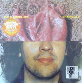 "The Flaming Lips - Brainville - Evil Will Prevail - RSD 1996 Alt Rock - Yellow Vinyl 3 Trk 10"" EP"