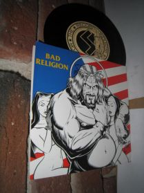 "Bad Religion - American Jesus - Stealth - Punk 7"""