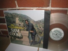 Sam Cooke - The Wonderful World of -  Ltd 500 Soul Gospel 140 Grm Clear Audiophile LP