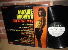 MAXINE BROWN - GREATEST HITS - Northern Soul - LP