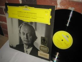 BEETHOVEN - KEMPFF - Piano Sonata No 31 No 32 Contemplative Classical Piano LP