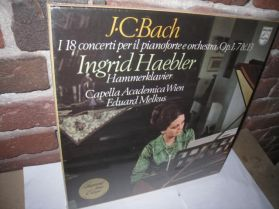 J.C. Bach - 18 Concertos For Clavier and Orch. - Ingrid Haebler - Sealed Classical 5LP