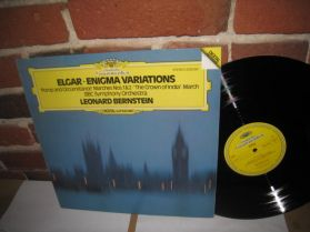 Elgar - Bernstein - Enigma Variations - Pomp and Circumstance -  Classical LP