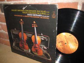 David Oistrakh - Violin Viola - Mozart - Sinfonia - Violin Concerto No.2 - Berlin  LP