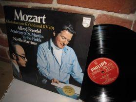 Mozart - Brendel - Marriner - Klavierkonzerte KV 466 Und KV 491 - Classical LP