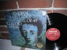 Chopin - 4 Ballades - Fantaisie Op. 49 - Claudio Arrau - 1977 Classical LP
