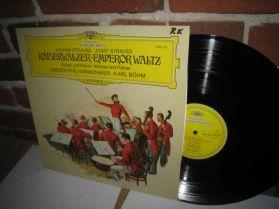 Johann Strauss Josef Strauss - Kaiserwalzer Emperor Waltz - Bohm - 1973 Classical LP