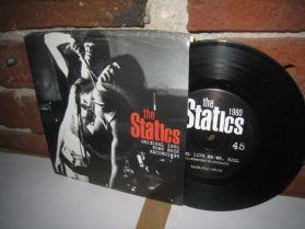 "The Statics - Rebel Like Me  - 1980 Canadian Garage Punk 7"""
