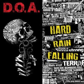 D.O.A. - Hard Rain Falling - 2015 Vancouver Canada Hardcore Punk LP