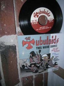 "The Tubuloids - This Wave Sucks - Vancouver Canada Punk 4 Trk 7"" EP"