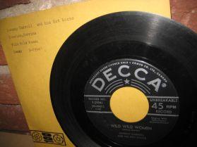 JOHNNY CARROLL - Wild Wild Women /Corrine, Corrina - Rockabilly 45