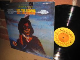 Winston Wuttunee - See The Arrow - Native Canadian Folk - Autographed LP