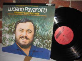 Luciano Pavarotti -  The World's Favourite Tenor Arias - Opera LP