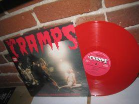Cramps - RockinnReelininAucklandNewZealandXXX - Live Red Vinyl Psychobilly Punk 180 LP