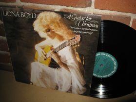 LIONA BOYD - A Guitar For Christmas - Gentle Charming Enchanting Christmas LP