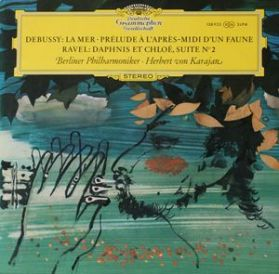 Debussy - La Mer - Ravel - Daphnis Et Chloe - Karajan - Tulip Label Classical LP