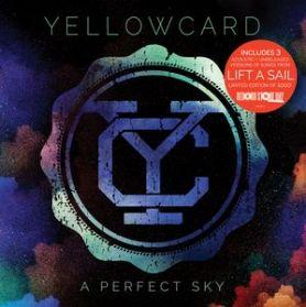 "Yellowcard - A Perfect Sky - 2015 RSD Ltd 1000 Pop Punk 3 Trk 10"" EP"