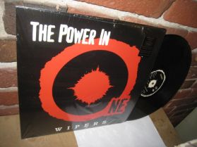 Wipers - The Power In One - Ltd to 1000 Copies - Garage Rock Punk 180 Grm LP