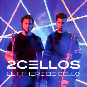2Cellos ‎– Let There Be Cello - 2018 Modern Classical Pop - Numbered Blue Vinyl - Sealed  180 Grm LP