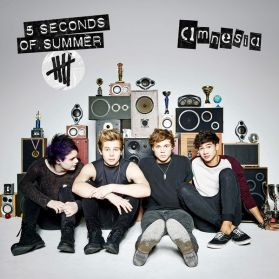 """5 Seconds of Summer - Amnesia -  - American Idiot - 2014 Pop Punk - Sealed 7"""" EP"""