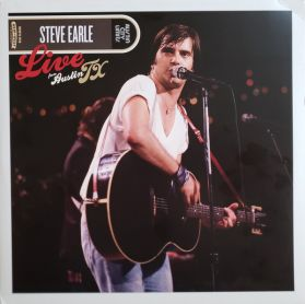 Steve Earle – Live From Austin TX - 1986  Country Rock - Sealed 180 Grm 2LP