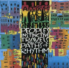 A Tribe Called Quest - Peoples Instinctive Travels And The Paths Of Rhythm - 1996 Hip Hop 2LP