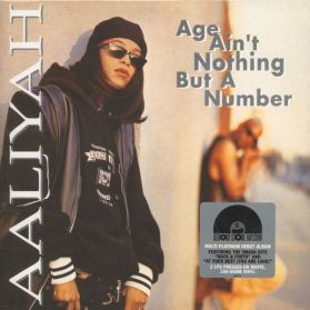 Aaliyah - Age Ain't Nothing But A Number - 1994 RSD R+B - White Vinyl - Sealed 180 Grm 2LP
