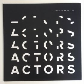 Actors – It Will Come To You - 2018 Vancouver BC New Wave Post Punk - 3rd Pressing Blue Vinyl LP