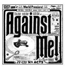 Against Me! - 23 Live Sex Acts - 2015 Pop Punk Blue Green Splatter Vinyl 180 Grm 3LP