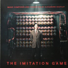 The Imitation Game - Alexandre Desplat – 2014 Original Motion Picture Soundtrack - Clear Vinyl 180 Grm LP