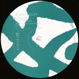Alton Miller – Untitled - 1998 Jazzy Deep House 4 Trk 12 EP