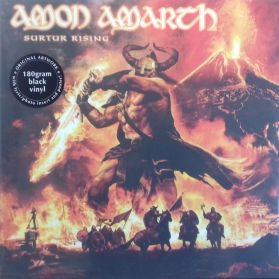 Amon Amarth- Surtur Rising -  2011 Melodic Death Metal - Black Vinyl 180g