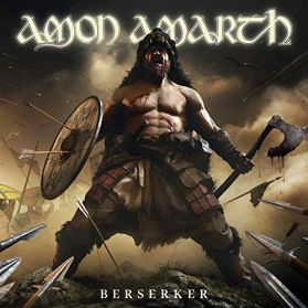 Amon Amarth ‎– Berserker - 2019 Melodic Death Metal - White W/ Black Splatter Vinyl 2LP