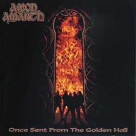 Amon Amarth ‎– Once Sent From The Golden Hall - 1998 Melodic Death Metal - Black Vinyl 180 Grm LP + Insert + Poster