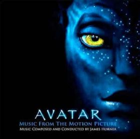 Avatar - James Horner – 2009 Music From The Motion Picture - Blue Vinyl - -Sealed   180 Grm 2LP
