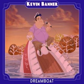 Kevin Banner – Dreamboat  - 2017 Vancouver Canada  Comedy Pink Vinyl LP