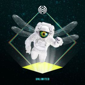 Bassnectar ‎– Unlimited -   2016 Downtempo Trip Hop EDM Electronic  - Blue / Yellow Vinyl - Sealed  2LP
