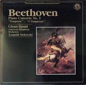 Beethoven – Emperor Concerto  - Glenn Gould -  Leopold Stokowski  – 1966 Classical LP