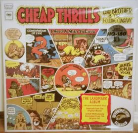 Janis Joplin - Big Brother and The Holding Company - Cheap Thrills -  1968 Rock - Stereo RTI Audiophile Analog HQ Sealed 180 Grm LP
