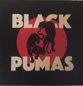 Black Pumas – Black Pumas - 2019 Psychedelic Funk Soul - Cream Coloured Vinyl - LP