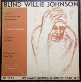 Blind Willie Johnson - S/T - 1957 Haunting Gospel Blues + Interviews - Original LP + Booklet
