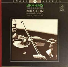 Brahms - Nathan Milstein - Fistoulari - Violin Concerto - 1962 Huge Tone Classical LP