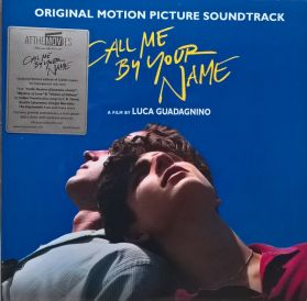 """Call Me By Your Name (Original Motion Picture Soundtrack)  - 2018 Textured """"linen-look"""" Cover - Red Vinyl  SEALED  180 Grm 2LP"""