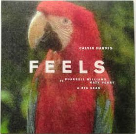 "Calvin Harris Ft. Pharrell Williams, Katy Perry & Big Sean – Feels - 2017 Electro Pop R + B Hip Hop - 2 Trk Pic Disc 12"" EP"
