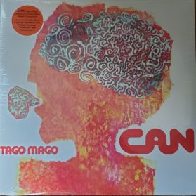 Can - Tago Mago - 1971 German Krautrock Prog Art Rock - Orange Vinyl - Sealed  2LP
