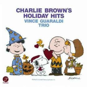 Vince Guaraldi Trio - Charlie Brown's Holiday Hits ‎–  1965 Jazz TV Soundtrack  LP