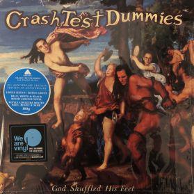 Crash Test Dummies – God Shuffled His Feet - 1996 Canada Alt Folk Rock - Blue, White & Black Vinyl 180 Grm LP