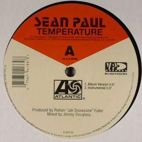 Sean Paul - Temperature - 2005 Huge Dancehall - Stupidly Dance Friendly 12